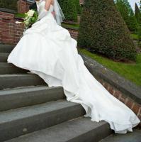 Foto 4 Brautkleid, Hochzeitskleid Gr. 38 von Kleemeier/Valerie + Zubehör