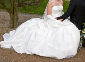 Foto 7 Brautkleid, Hochzeitskleid Gr. 38 von Kleemeier/Valerie + Zubehör