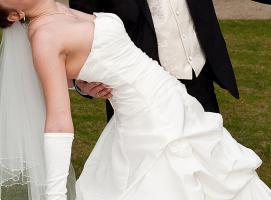 Foto 9 Brautkleid, Hochzeitskleid Gr. 38 von Kleemeier/Valerie + Zubehör