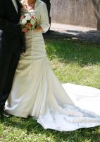 Brautkleid, elfenbein