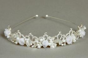 Foto 8 Brautschmuck - Handgefertigte edle Accessoires - Diademe, Tiara, Halsketten, Haark�mme aus Swarovski-Kristallen, S�sswasserperlen hochwertig verarbeitet