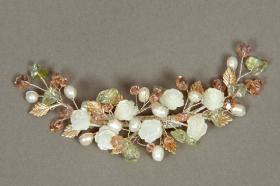 Foto 15 Brautschmuck - Handgefertigte edle Accessoires - Diademe, Tiara, Halsketten, Haark�mme aus Swarovski-Kristallen, S�sswasserperlen hochwertig verarbeitet