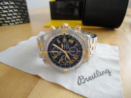 Breitling Chronomat b13356 Stahl/Gold