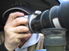 Foto 7 Brennende Autos, Private Sicherheits Detektive beobachten die Straßen und Parkplätze getarnt , Wirkung sehr gut .