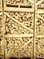 Brennholz in Paletten-trocken oder feucht