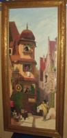 Briefbote im Rosenthal (Gemälde)