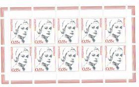 Briefmarken 10 er Bögen 9 Motive !