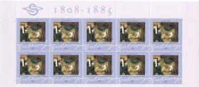 Foto 8 Briefmarken 10 er Bögen 9 Motive !