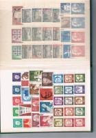 Foto 2 Briefmarken BERLIN 1957 - 1971 **