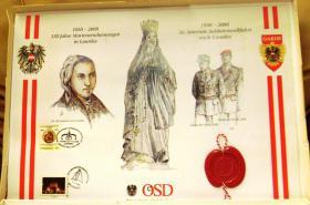 Briefmarken Sondermarken mit Sonderstempel