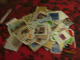 Foto 5 Briefmarkenalbum mit Briefmarken+Briefmarken+ anderes Album