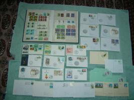 Foto 2 Briefmarkensammlung der ersten Jahre UN-Wien