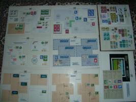 Foto 4 Briefmarkensammlung  der Vereinte-Nationen-Genf komplett