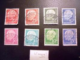 Briefmarkensammlungen, HEuss-Sammlung, Alben, ....