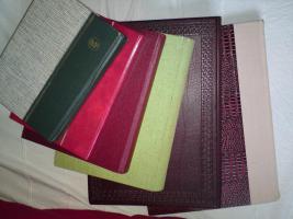 Foto 8 Briefmarkensammlungen, HEuss-Sammlung, Alben, ....
