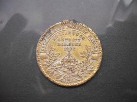 Foto 2 Bronze Medaille Wilhelm II Kaiser Koenig v.Preussen (1888)