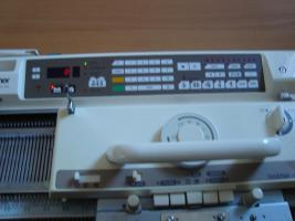 Brother Strickmaschine KH940 mit Doppelbetterg�nzung KR850