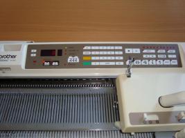 Foto 6 Brother Strickmaschine KH940 mit Doppelbettergänzung KR850