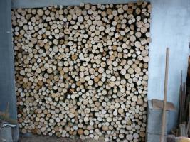 Foto 3 Buchenholz ofenfertig frisch zum Einlagern
