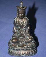 Buddha Dizhan Pusa aus Kunstharz 15 cm hoch - NEU!