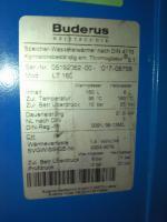 Foto 4 Buderus Spezialheizkessel G134X - Speicher Brauchwassererw�rmer LT 160