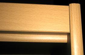 Foto 2 Bücherregal mit 6 Fächern