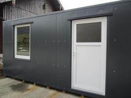 Foto 2 Büro-Lager-Wohncontainer, Imbiss-Würstelstand, Garage