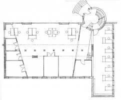 Bürofläche in Bürogemeinschaft mit Architekten
