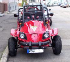 Foto 2 Buggy 250ccm Gokart Cart 2 Sitzer mit Strassenzulassung als Quad Kart
