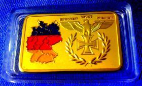 Bundesrepublik Deutschland - Eisernes Kreuz - Goldauflage – Neu