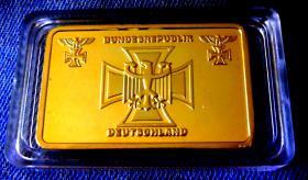 Foto 2 Bundesrepublik Deutschland - Eisernes Kreuz - Goldauflage – Neu