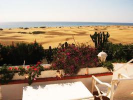 Bungalow erste Strandreihe Playa del Ingles zu verkaufen - Meerblick