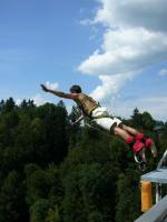 Bungy in Vorarlberg - Lingenauer Br�cke