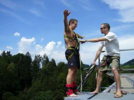 Foto 2 Bungy in Vorarlberg - Lingenauer Br�cke