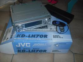 CD- Receiver JVC KD- LH70R zu verkaufen