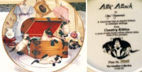 Foto 4 COUNTRY KITTIES, 8 Sammelteller, limitierte Edition