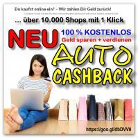 COUPON war gestern – AUTOCASHBACK ist heute - Geld sparen und verdienen …