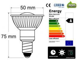 Foto 4 CREE - Spot - Strahler 4Watt 8 fachverstäkt durch optische Linse