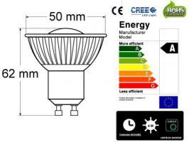 Foto 6 CREE - Spot - Strahler 4Watt 8 fachverstäkt durch optische Linse