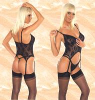 Camisole, String + Str�mpfe