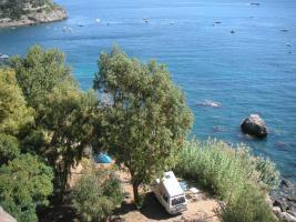 Campingplatz direkt am Meer