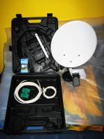 Foto 2 Camping Sat-Anlage JS351M41 + Skymaster digital Receiver + Single LNB