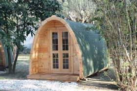 Foto 3 Campingfass, XXL Campingfass, Schlaffass, Campingpod, Schlafpod
