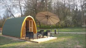Foto 10 Campingfass, XXL Campingfass, Schlaffass, Campingpod, Schlafpod