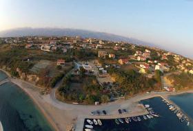 Campingplatz direkt am Meer in Rtina Miocici bei Zadar, Norddalmatien, Haustiere erlaubt