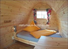 Foto 10 Campingpod, Camping Pod, Schlaf Pod, Campingfass, Schlaffass, Sauna Pod, Saunapod, Fasssauna, Saunafass