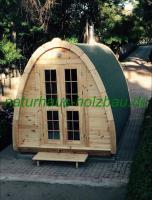 Foto 4 Campingpod, Camping Pod, Schlafpod, Campingfass, Schlaffass, Saunapod, Fasssauna, Saunafass