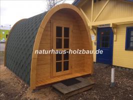 Foto 14 Campingpod, Campingfass, XXL Campingfass, Schlaffass, Saunapod, Fasssauna, Saunafass