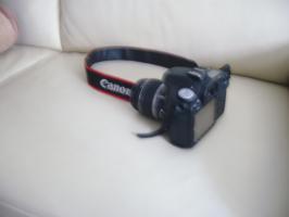 Canon D 50 mit Objekliv 18-55 mm