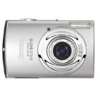 Canon Digital Ixus 860 IS Silver